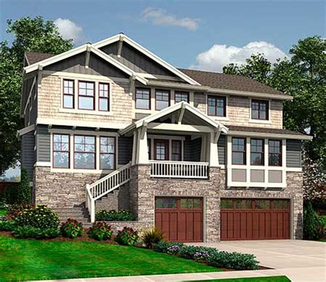 house plans for sloped lots front sloping lot house plans homes floor plans
