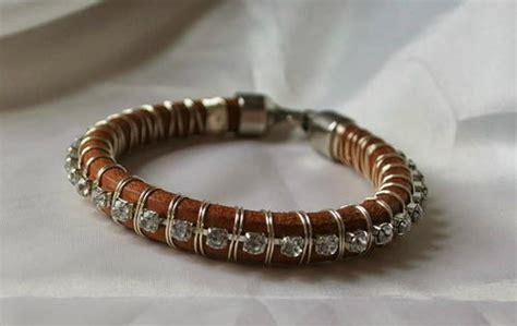 bracelet wire for earthy crochet wire bracelet allfreejewelrymaking