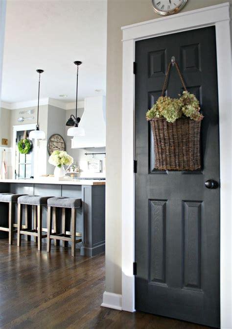 black door interior best 25 paint doors black ideas on black