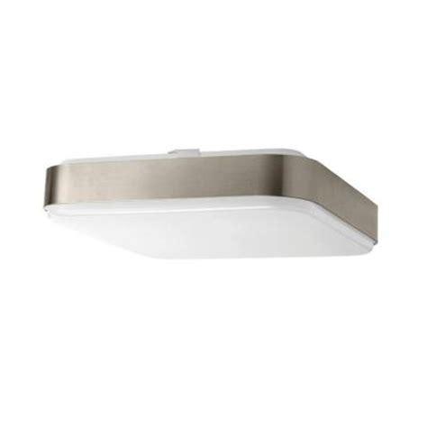 home depot light sale hton bay 1 light 12 in square led ceiling light