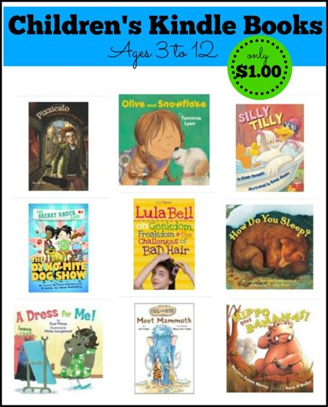 do kindle books pictures get 25 kid s kindle books for 1 each