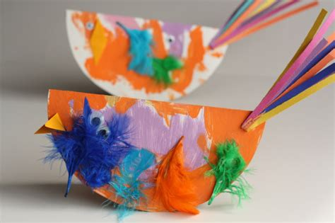 bird craft for paper plate bird craft for easy and so