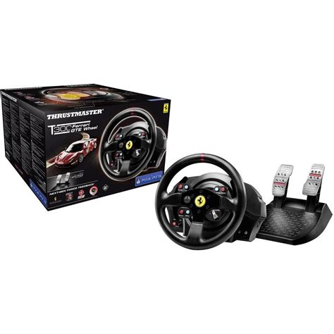 Thrustmaster Ferrari Lenkrad by Lenkrad Thrustmaster T300 Ferrari Gte Wheel Playstation 174 4