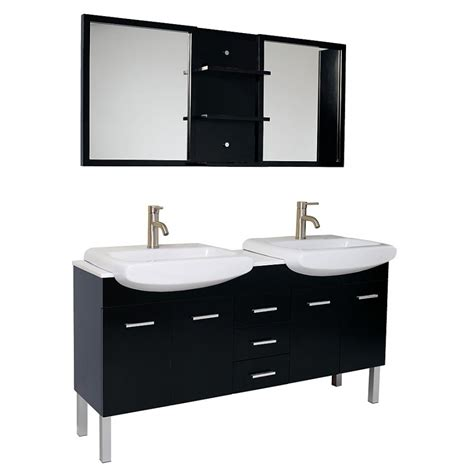 59 inch sink bathroom vanity 59 inch espresso modern sink bathroom vanity with
