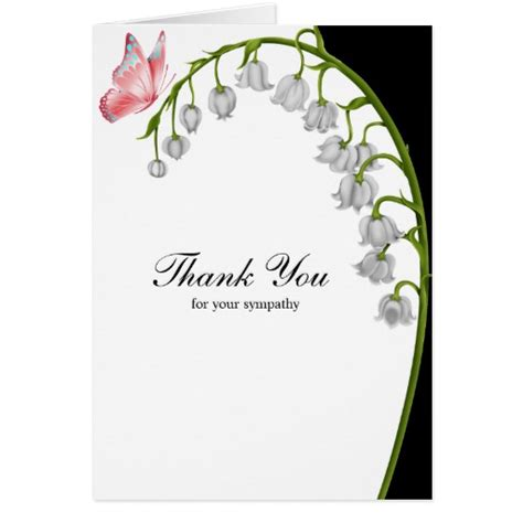 card for your thank you for your sympathy greeting card zazzle