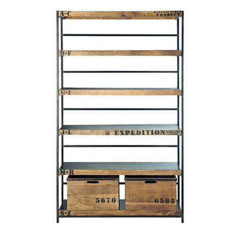 biblioth 232 que privatefloor biblioth 232 que vintage acier industriel et bois ventes pas cher