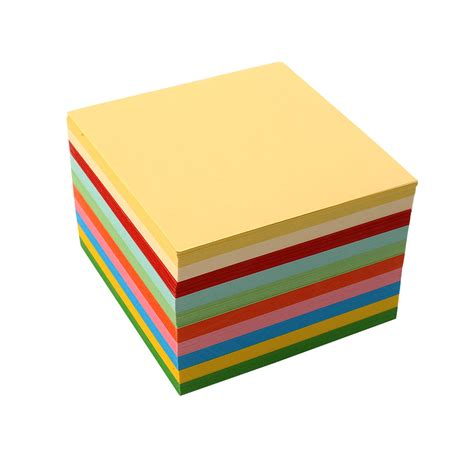 square craft paper 100pc origami square paper sided coloured