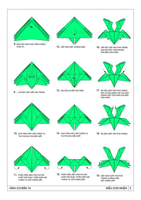 origami resources origami spider by ts pham dinh tuyen