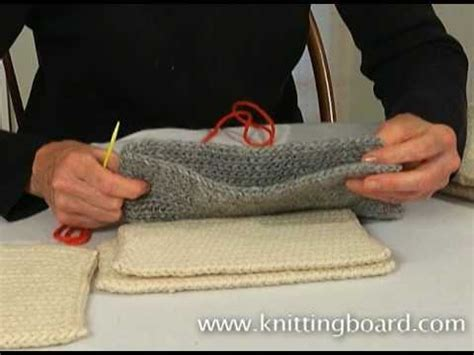 Faster Flatter Mattress Stitch Seam For Knitters By