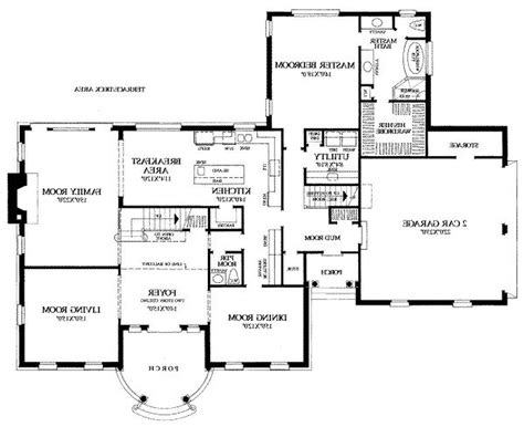 popular house floor plans floor plan architectural drawing design plans clipgoo