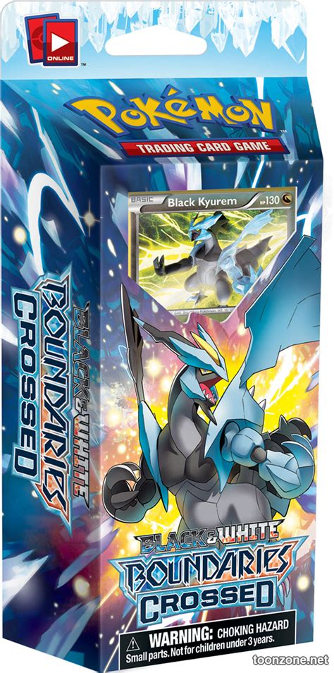 White Kyurem Theme Deck pok 233 mon tcg black white boundaries crossed look