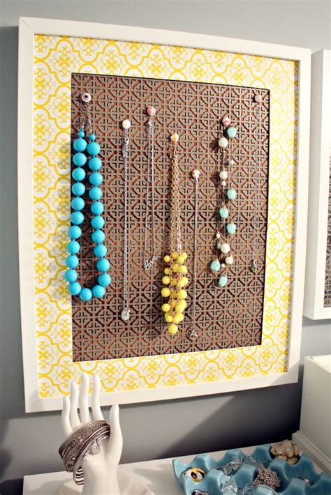 how to make a jewelry display board iheart organizing a simple diy jewelry display