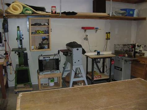 how to set up a woodworking shop in the garage beginner woodshop setup