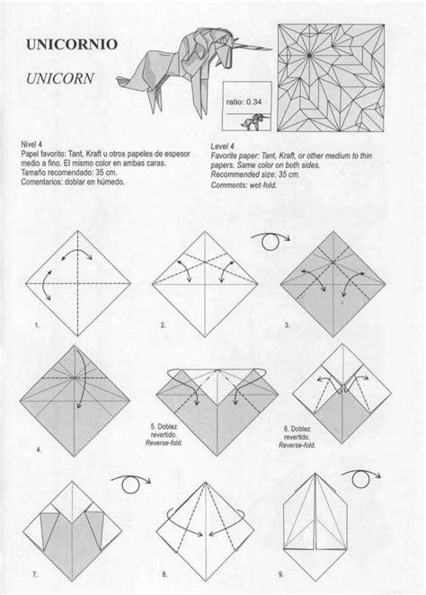 how to make an origami unicorn unicorn 1 origami
