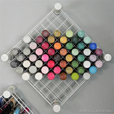 acrylic paint keeper best 25 wire storage racks ideas on