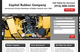 Capital Rubber Co On 19th St In Sacramento Ca 916 498