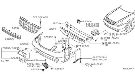 Nissan Parts by Nissan Rogue Front Bumper Diagram Nissan Free Engine
