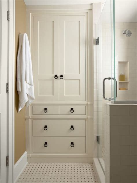 closet bathroom ideas bathroom linen closet home design ideas pictures remodel