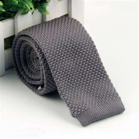 knit necktie narrow knit knitted tie necktie slim wedding