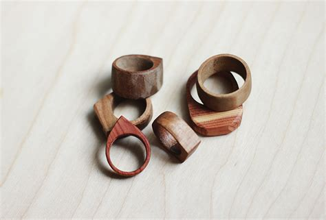 how to make rings jewelry simple wooden rings 187 the merrythought
