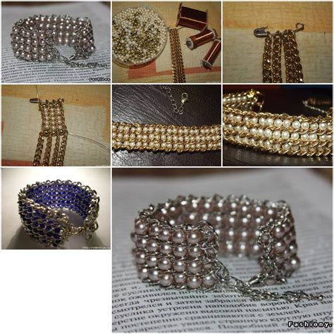 how to make jewelry bracelets how to make pretty jewelry like and chains wrist