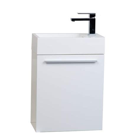 bathroom vanities tn buy 18 inch bathroom vanity set glossy white tn t460 hgw