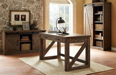 rustic home office furniture 22 home office furniture designs ideas design trends