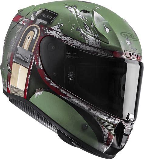 Motorradhelm Star Wars by Hjc Rpha 11 Boba Fett Star Wars Helm G 252 Nstig Kaufen Fc Moto