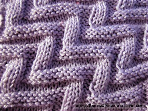 knitting stitches knit purl combinations pattern 4 labyrinth knitting