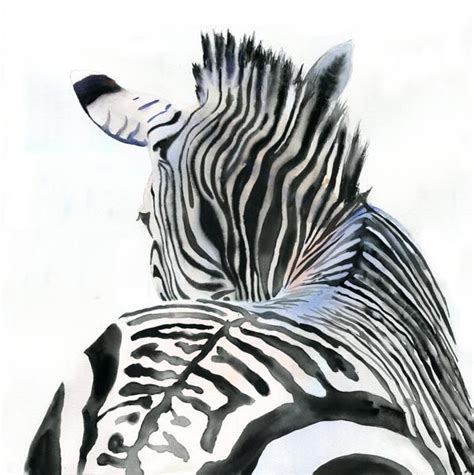 paint colors to match zebra print giclee print zebra africa wildlife zoo painting