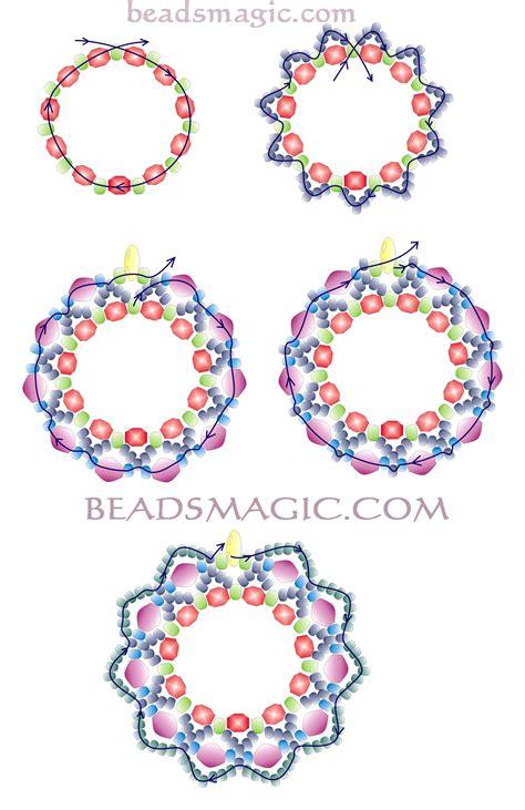 free earring patterns seed free pattern for earrings berry juice 2 beading