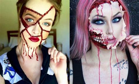 ideas scary 21 scary makeup ideas stayglam