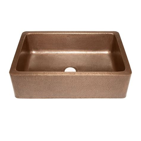 copper kitchen sinks reviews farmhouse apron front handmade copper kitchen sink
