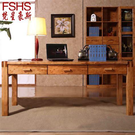 wooden desks for home office fshs cedar wood ikea computer desk desktop