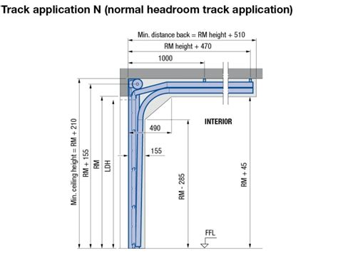 overhead garage door dimensions overhead garage door dimensions for new