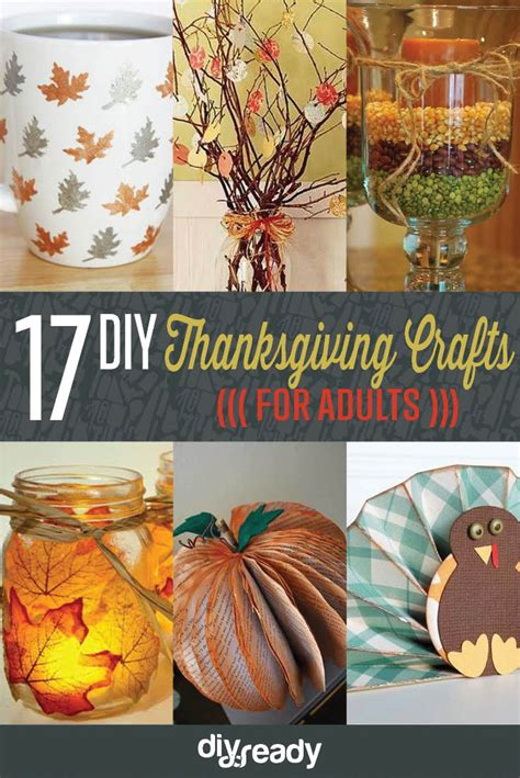 diy thanksgiving crafts for amazingly falltastic thanksgiving crafts for adults diy