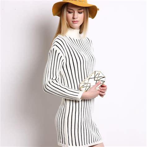 knitted winter dress aliexpress buy 2016 fashion winter dress