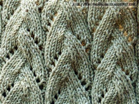 knit lace stitches lace knitting pattern 22 braided stitch knitting unlimited