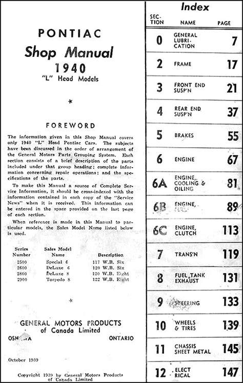 1972 pontiac repair shop manual original all models for 1972 pontiac grand prix wiring diagrams 1940 pontiac repair shop manual original canadian all models