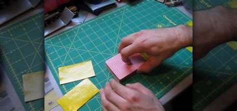 how to make a duct card holder how to make a chic duct card holder