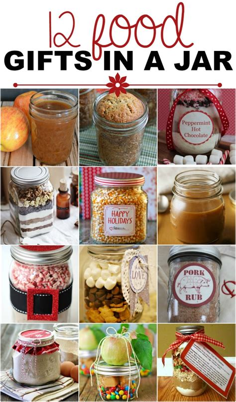 gifts with jars food gifts in a jar recipes