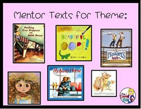 using picture books to teach theme 42 best mentor books and activities images on