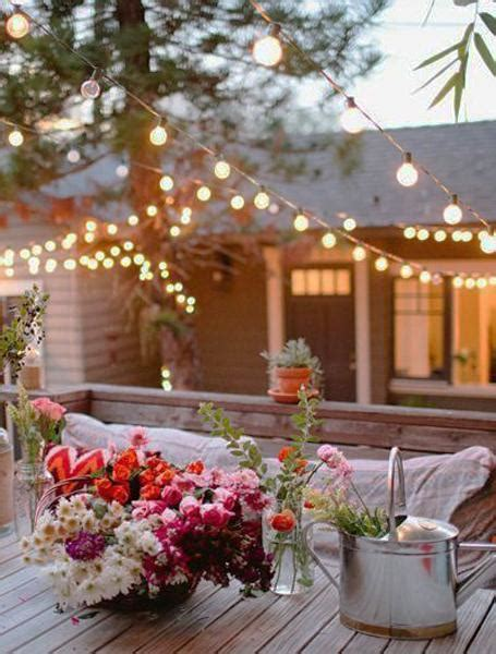 outdoor garlands with lights inexpensive outdoor yard decorations