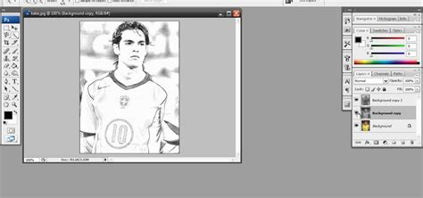how to draw photoshop how to create a sketch effect in adobe photoshop