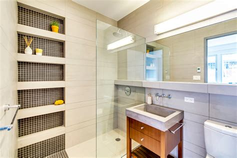 bathroom built in shelves built in shower shelves bathroom contemporary with