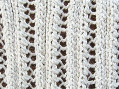 how to knit eyelet lace the 31 best images about knitting on lace