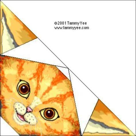 tammy yee origami orange cat origami