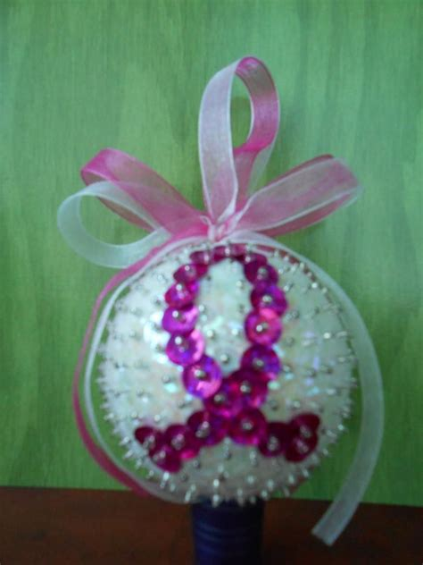 breast cancer ornament breast cancer ornament ornaments