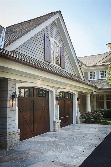 garage door to house best 25 wood garage doors ideas only on