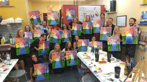 paint with a twist locations wedding bachelorette picture of painting